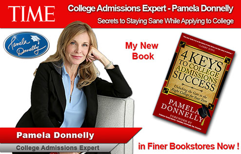 Pamela Donnelly - College Admissions Expert Time Interview